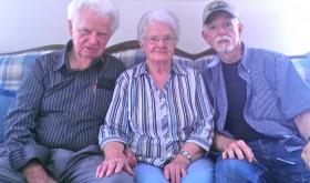 Steve with parents, P.J. & Lillian