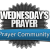 Wednesday's Prayer