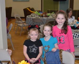 Isabelle, Josie & Lily