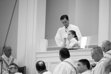 Josie and Emmitt Baptism Aug 31 2014