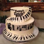 Henry's B'day Piano Cake
